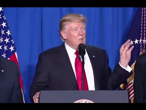 Trump Issues Immigration, Mexican Wall Executive Orders-Full Speech At Homeland Security HQ
