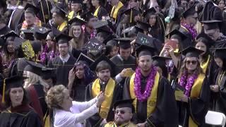 2017 CSULB Commencement - Arts