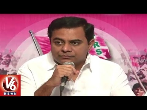 Congress Provokes Muslims on Reservations Issue | Minister KTR | V6 News