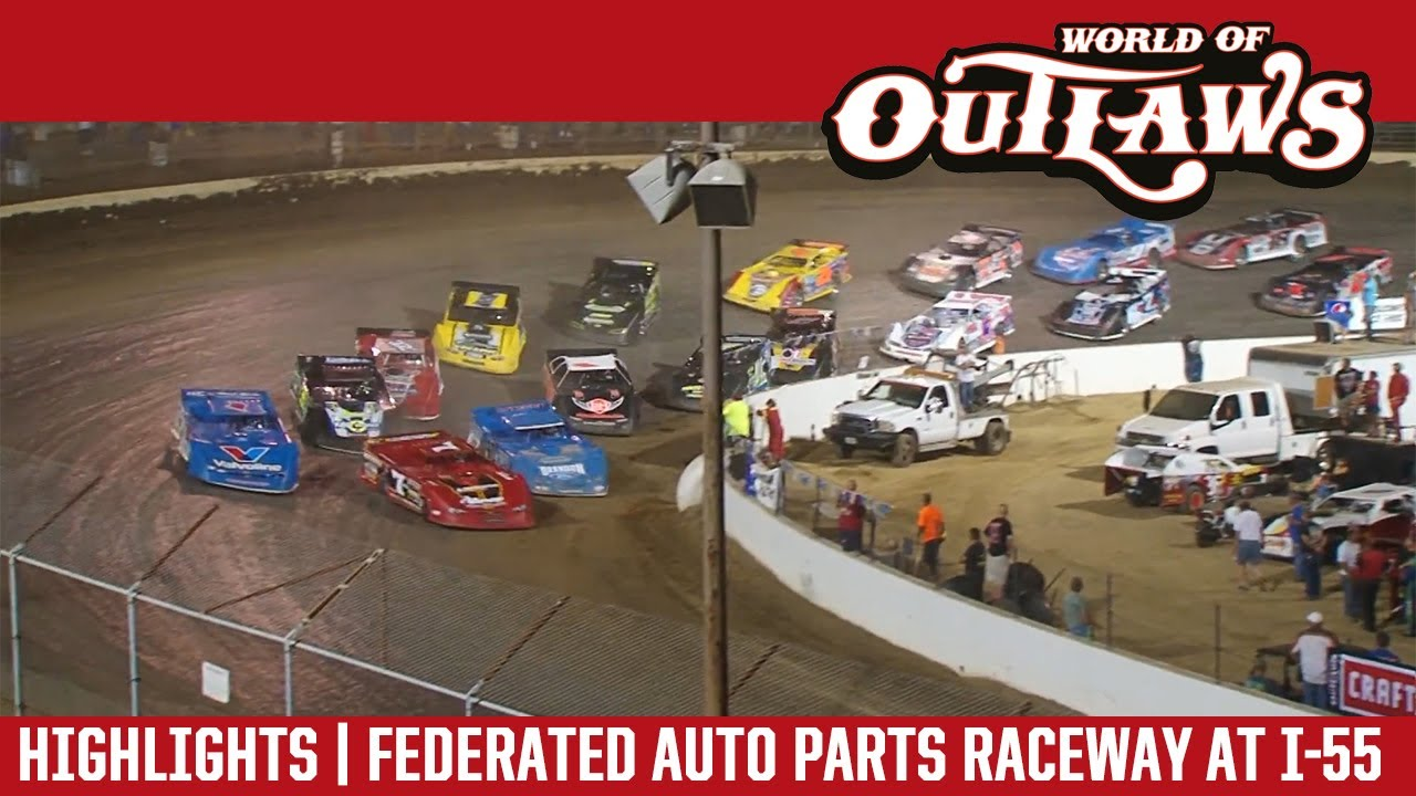 World Of Outlaws Craftsman Late Models Federated Auto Parts