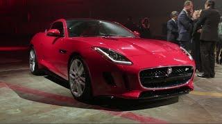 2014 Jaguar F Type Coupe - 2013 L.A. Auto Show