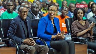 Imbere ya Perezida Kagame wa mukobwa yemeje benshi||Ibirori bitangiza Giants of Africa Festival
