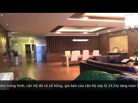 Bán căn hộ Saigon Pearl Penthouse đầy đủ nội thất giá tốt