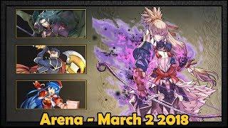 [Fire Emblem Heroes] Arena - Takumi (FH) - 2018-3-02 [Advanced]