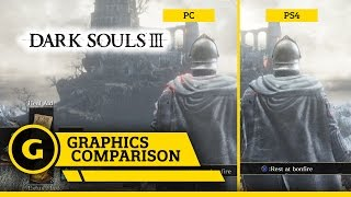 Dark Souls III PC v PS4 - Graphics Comparison