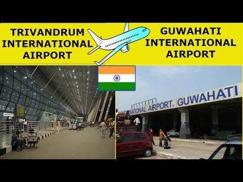 TRIVANDRUM vs GUWAHATI Airport Comparison (2019)