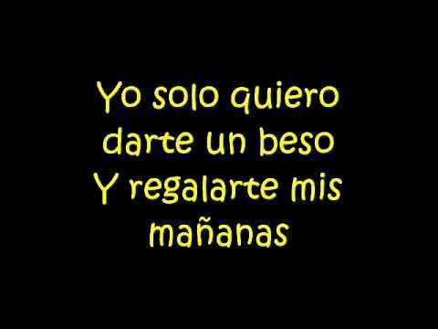 Darte un beso - Prince Royce (lyrics)