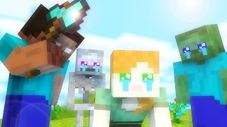 Monster School  Kills The Alex  - Minecraft animation