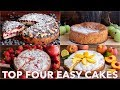 TOP 4 MOST VIRAL EASY CAKE RECIPES