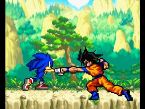 Goku vs Sonic Necesita Goku la ayuda de Vegeta  YouTube