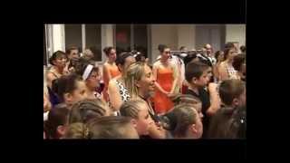 Vidéo de l'Atelier Danse de Seb et Sandra à Mâcon : Gala 2014 making of partie 1