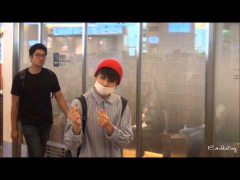 150813 BTS Haneda Airport Fancam