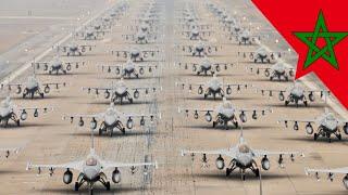 المغرب | شاهد إستعراض لأخطر و أقوى الطائرات الحربية في إفريقيا يمتلكها الجيش المغربي -- Maroc
