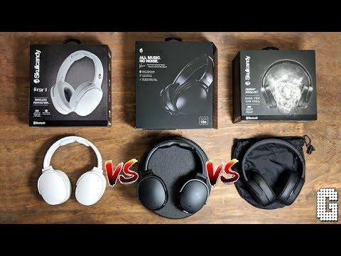 Skullcandy Venue VS Crusher Wireless VS Hesh 3
