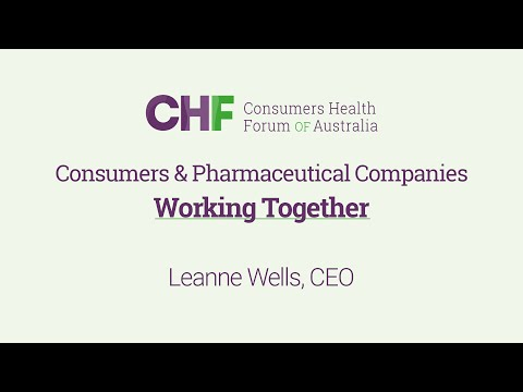 APEC 2016 Business Ethics Forum - Consumers & Pharmaceutical Companies; Working Together