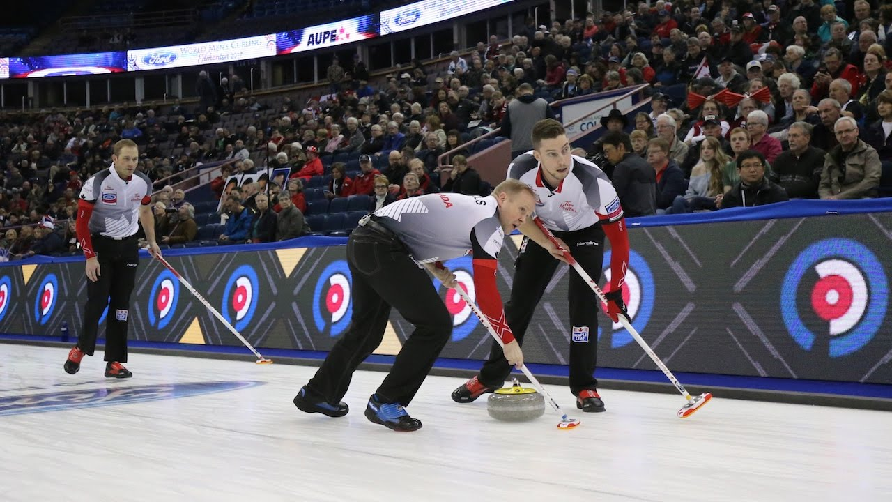 HIGHLIGHTS: Canada v USA - Ford World Men's Curling Championship 2017