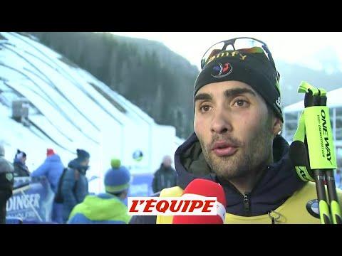 Biathlon - CM (H) - Ruhpolding : Martin Fourcade «Je ne vais pas m'enflammer»