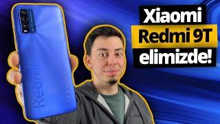 Xiaomi Redmi 9T kutu açılımı! Türkiye'de ilk!