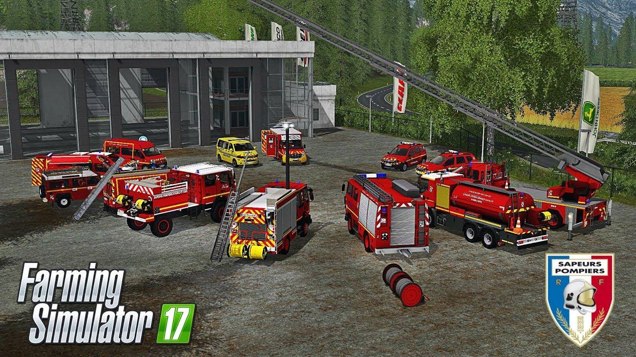 Les meilleurs mods Pompier - Farming Simulator 17 !
