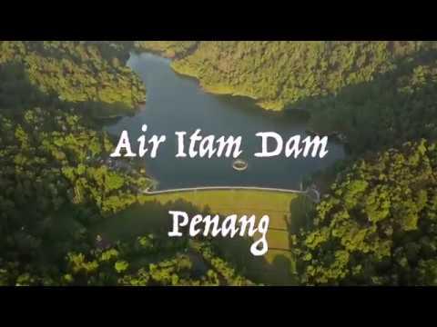 Drone View Penang Air Itam Dam
