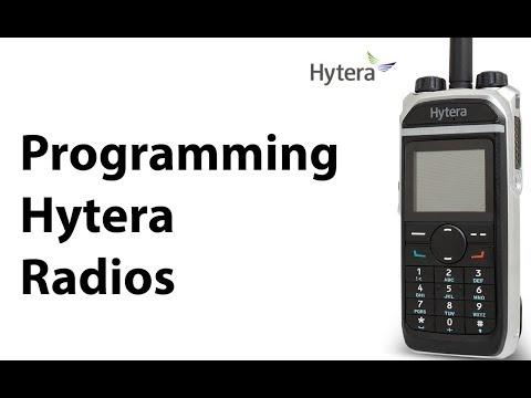 Programming Hytera Radios - YouTube