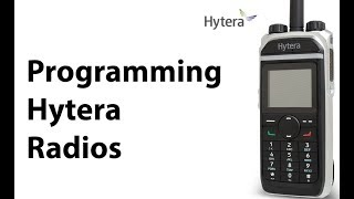 How To Get Hytera Firmware V9 - Out Now! Europe Only