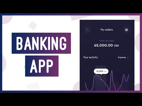 How to build a Banking App | HTML & CSS Website Tutorial