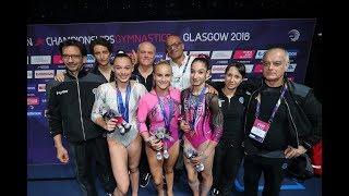 Glasgow 2018 - Ginnaste e medaglie preziose!