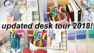 updated desk tour 2018! ♡    indonesia