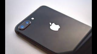 Замена заднего стекла back glass repair iPhone 8 Plus
