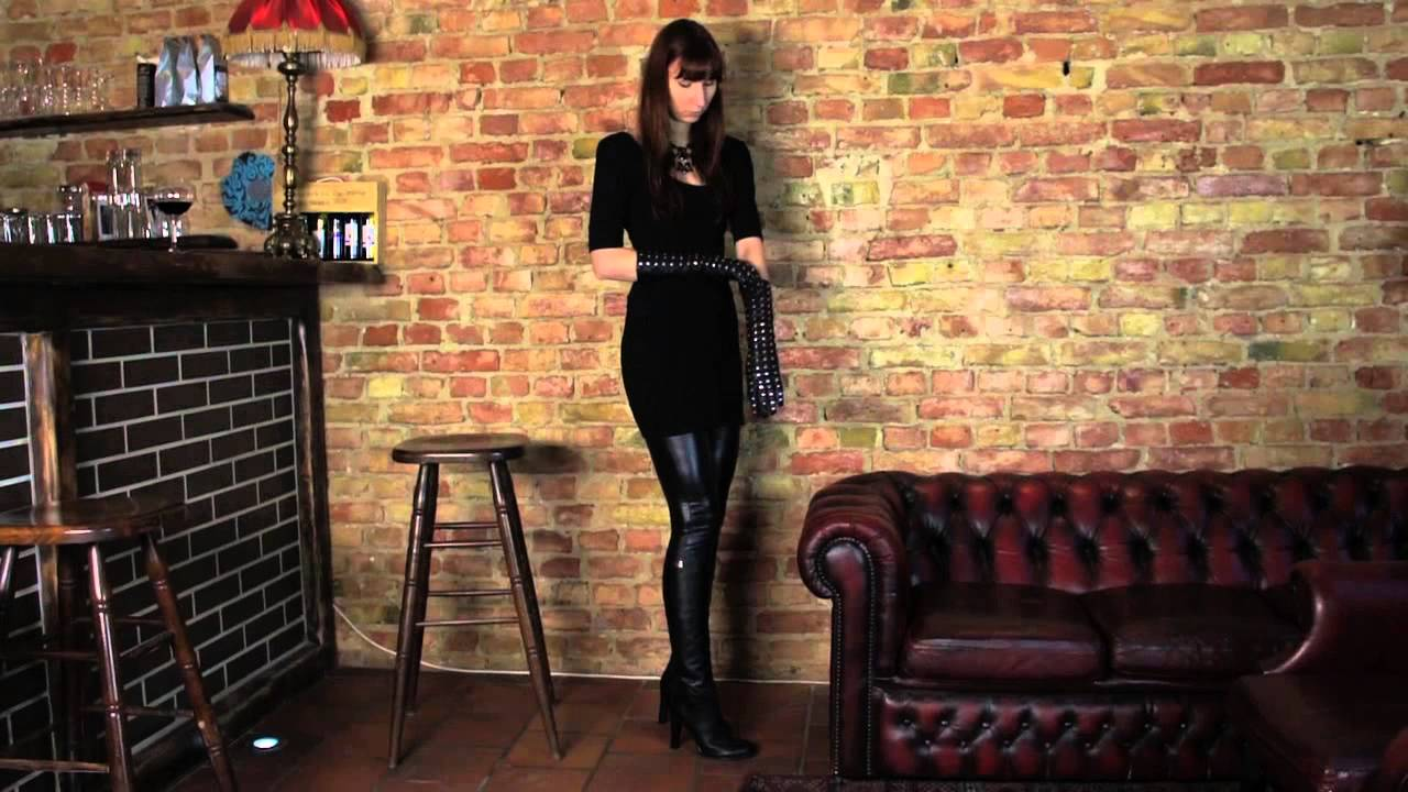 Ladies in leather gloves and boots - Ladies In Leather Gloves And Boots 42