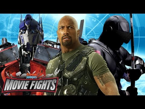 Ultimate G.I. Joe / Transformers Crossover - MOVIE FIGHTS!!