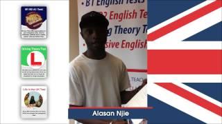 B1 English Test At Esol Entry Level 3 (passed - Alasan)
