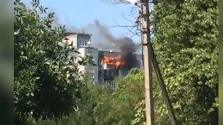 Две квартиры и ангар: несколько крупных пожаров потушили сегодня в Краснодаре