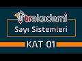 Sayı Sistemleri ve Basamak Kavramı Konu Anlatımı ve Soru Çözümleri KAT 01