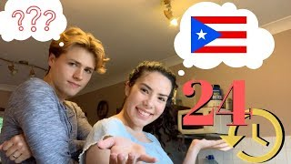 Speaking ONLY Spanish To My Boyfriend for 24 HOURS!!!