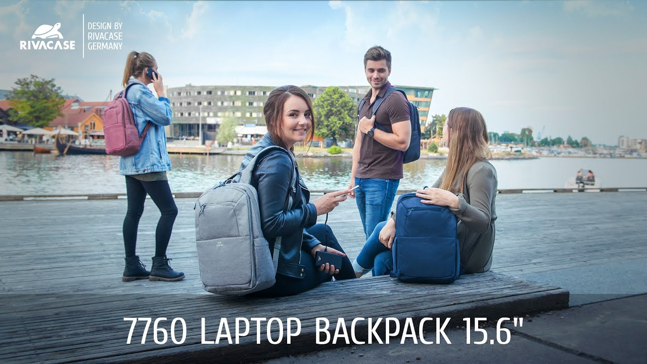 RIVACASE 7760 Laptop backpack 15.6