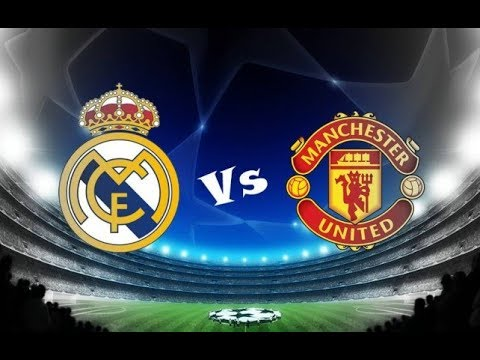 Real Madrid Vs Manchester United PES 2017 PS3