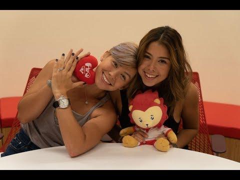 Kelly Latimer and Barbara Latimer: Sport Singapore ambassadors