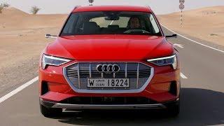 2019 Audi e-tron | Catalunya Red | Driving, Interior, Exterior