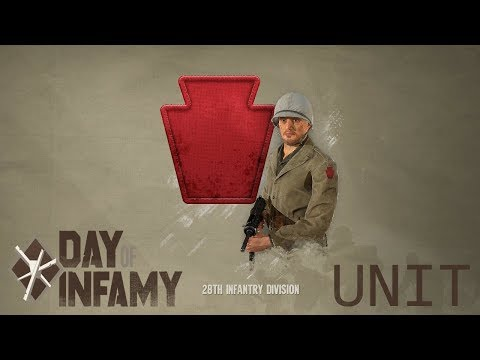 28th Infantry Division skin unit [Day of Infamy Units Showcase]