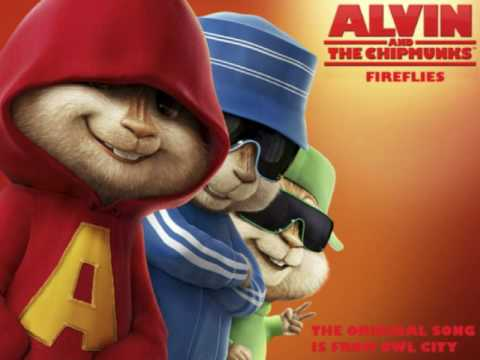 Chipmunks - Fireflies (Owl City)