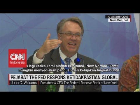 Pejabat the Fed Respons Ketidakpastian Global | IMF-World Bank Bali