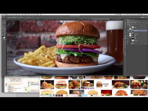Burger Speed Art #3