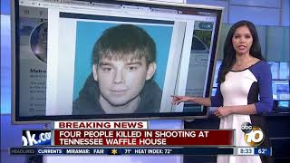 Waffle House shooter UPDATED