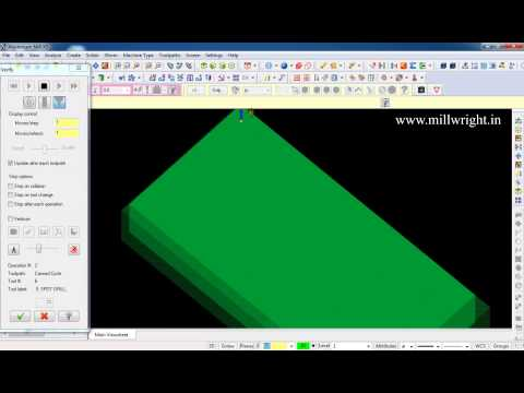 How to use Auto drill operation in Mastercam