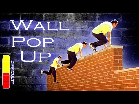 wall pop up fastest way up a wall parkour tutorial