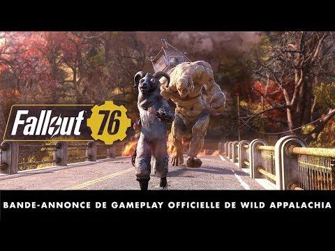 Fallout 76 – Bande-annonce de gameplay officielle de Wild Appalachia thumbnail