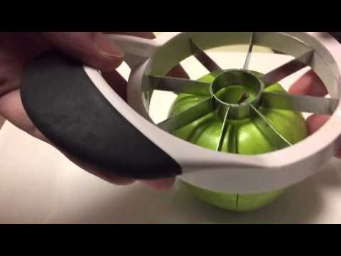 How To Cut Thin Apple Slices with a Normal Apple Slicer