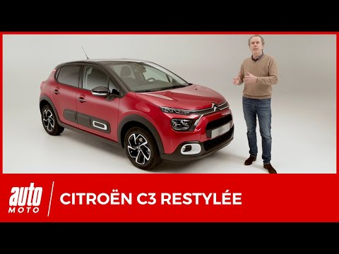 Nouvelle Citroën C3 restylée : minimum syndical